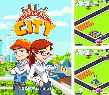 In addition to the game Street car race for mobile phone, you can download mobile game Little Big City for free.
