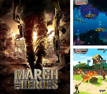 In addition to the game Jewel clash for mobile phone, you can download mobile game March of Heroes for free.