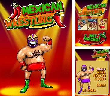 Download free mobile game: Mexican Wrestling - download free games for mobile phone.