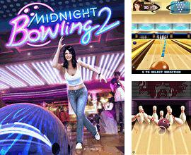 In addition to the game Nuts bubbles for mobile phone, you can download mobile game Midnight Bowling 2 for free.