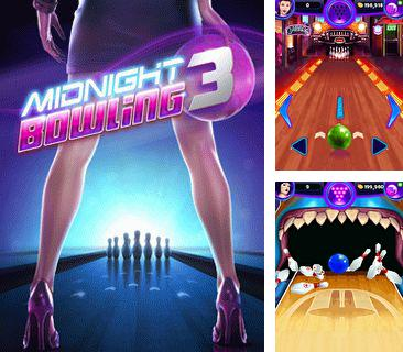 Download free mobile game: Midnight Bowling 3 - download free games for mobile phone.