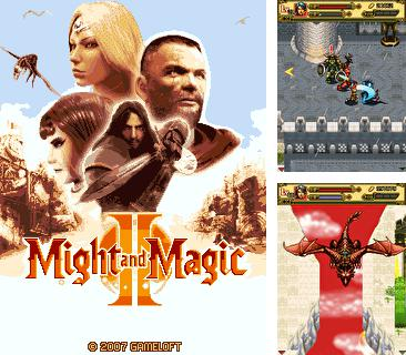 In addition to the game Giga Jump for mobile phone, you can download mobile game Might and Magic II for free.