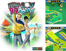 In addition to the game LEGO Racers for mobile phone, you can download mobile game Mini Golf 99 Holes for free.