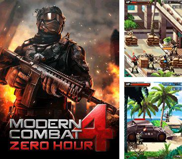 In addition to the game Tanchiki (Tanks) for mobile phone, you can download mobile game Modern Combat 4: Zero Hour for free.