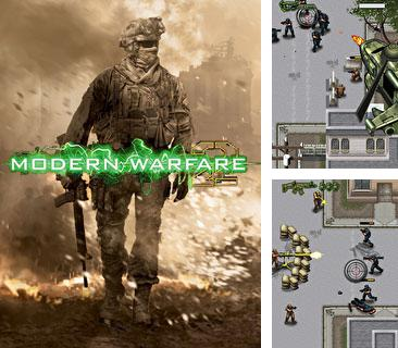 Además del Java juego Ciudad de batalla - Élite de Paer para teléfonos móviles, también puedes descargarte gratis Call of Duty 4: Modern Warfare 2: Nueva estafa de la fuerza, Call of Duty 4 Modern Warfare 2: Force Recon.