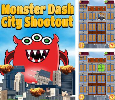 Monster dash city shootout