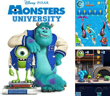 In addition to the game iCarly for mobile phone, you can download mobile game Monsters university for free.