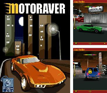 Download free mobile game: Motoraver 3D - download free games for mobile phone.