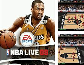 In addition to the game Sехy Black jack for mobile phone, you can download mobile game NBA Live 2008 for free.