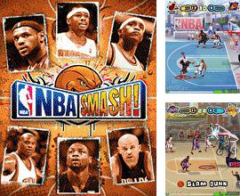 In addition to the game Formula Racing 3D for mobile phone, you can download mobile game NBA Smash! for free.