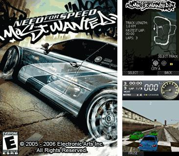 En plus du jeu Gish: Une vraie fin pour votre téléphone, vous pouvez télécharger gratuitement Need For Speed: le Plus Recherché, Need For Speed Most Wanted.