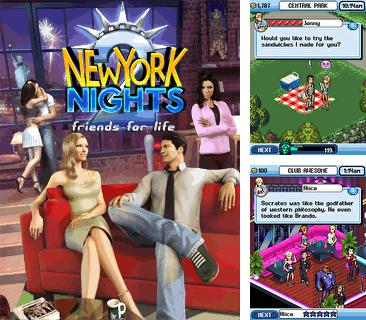 Además del Java juego Cafetería: Corazones para teléfonos móviles, también puedes descargarte gratis Noches de Nueva York 2: Amigos para la vida, New York nights 2: Friends for life.