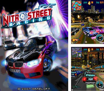 In addition to the game Mobi xonix 3D for mobile phone, you can download mobile game Nitro Street Racing for free.