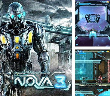In addition to the game Burger Time for mobile phone, you can download mobile game Near Orbit Vanguard Alliance N.O.V.A 3 for free.