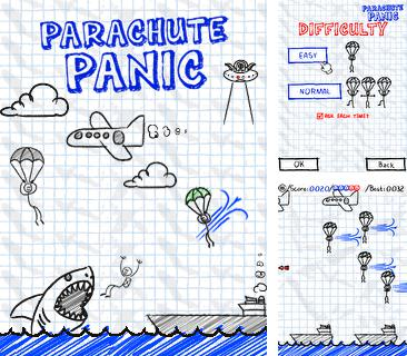 In addition to the game Bubbles of passion: Ivona for mobile phone, you can download mobile game Parachute Panic for free.