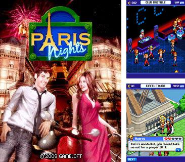 In addition to the game Bubble Boom for mobile phone, you can download mobile game Paris Nights for free.