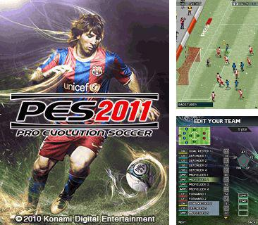 In addition to the game The ninja jumping: Cut fruit for mobile phone, you can download mobile game Pro Evolution Soccer 2011 for free.