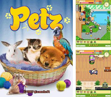 In addition to the game Bugs bunny: Crazy castle for mobile phone, you can download mobile game Petz for free.