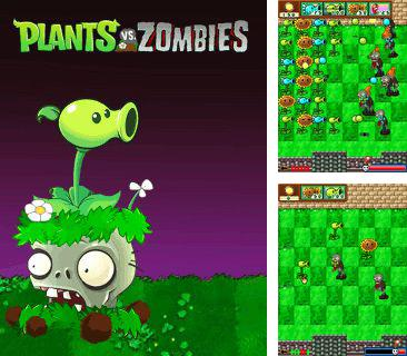 Download free mobile game: Plants vs zombies: Clone - download free games for mobile phone.