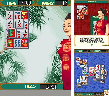 Download free mobile game: Platinum Mahjong - download free games for mobile phone.