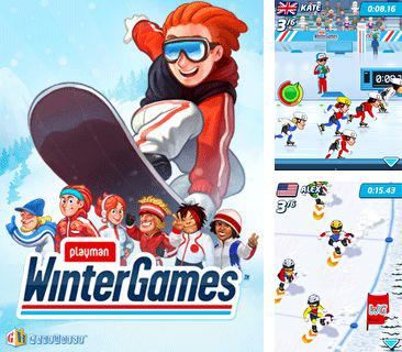 Download free mobile game: Playman Winter Games 2010 - download free games for mobile phone.