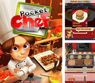 In addition to the game Air Strike 1944 for mobile phone, you can download mobile game Pocket Chef for free.