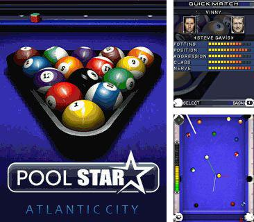 Download free mobile game: Pool star: Atlantic city - download free games for mobile phone.
