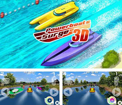 In addition to the game Hellmuth's: High-Stakes Hold'Em for mobile phone, you can download mobile game Powerboats Surge 3D for free.