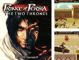 In addition to the game Cannon attack for mobile phone, you can download mobile game Prince of Persia 3: The Two Thrones for free.