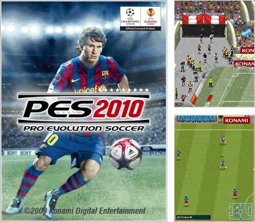 Download free mobile game: Pro Evolution Soccer 2010 - download free games for mobile phone.