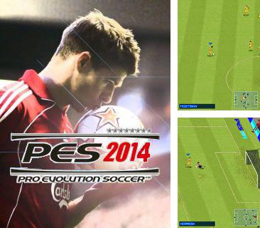 In addition to the game Cute Gem Babes for mobile phone, you can download mobile game Pro Evolution Soccer 2014 for free.