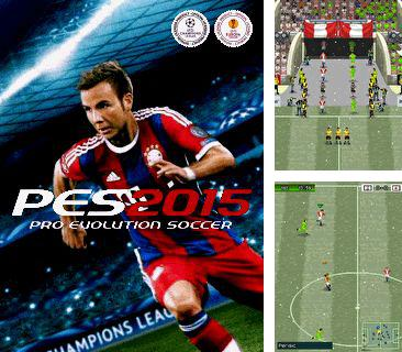 In addition to the game Jewel clash for mobile phone, you can download mobile game Pro Evolution Soccer 2015 for free.