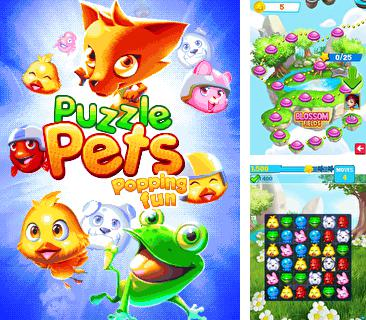 In addition to the game Mario kart: Super extreme for mobile phone, you can download mobile game Puzzle pets: Popping fun for free.