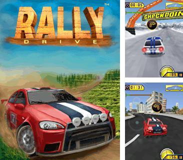 Download free mobile game: Rally Drive - download free games for mobile phone.