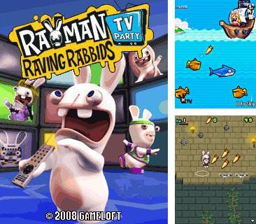 In addition to the game FHM Bar Games: Pinups Edition for mobile phone, you can download mobile game Rayman Raving Rabbids TV Party for free.