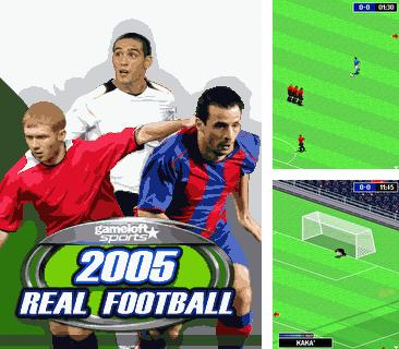 Download free mobile game: Real Football 2005 - download free games for mobile phone.