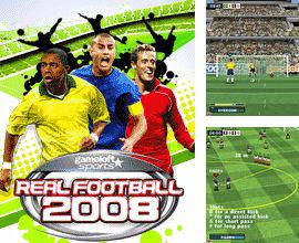 In addition to the game Vet clinic manager for mobile phone, you can download mobile game Real Football 2008 3D + 2D for free.