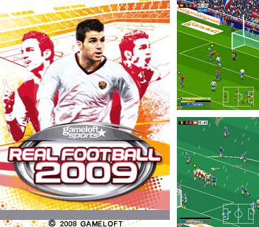 Download free mobile game: Real Football 2009 Bluetooth - download free games for mobile phone.