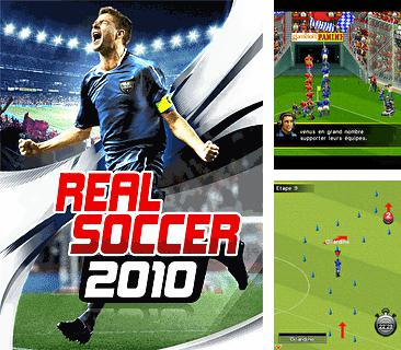 In addition to the game Sponge Bob Paparazzi Parade for mobile phone, you can download mobile game Real Football 2010 for free.