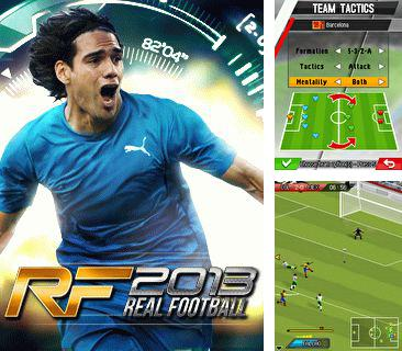 In addition to the game Popular solitaires for mobile phone, you can download mobile game Real Football 2013 for free.