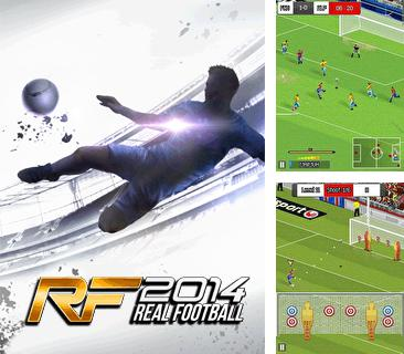 In addition to the game Mario kart: Super extreme for mobile phone, you can download mobile game Real football 2014 for free.