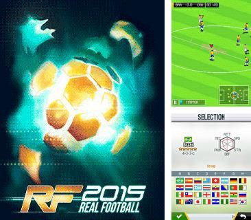 Download free mobile game: Real football 2015 - download free games for mobile phone.