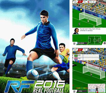 In addition to the game Ghosts zuma for mobile phone, you can download mobile game Real Football 2016 for free.