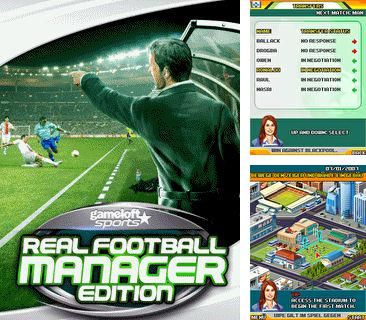 In addition to the game Cricket quiz for mobile phone, you can download mobile game Real football manager edition for free.