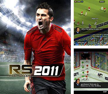 In addition to the game Footballz World Cup for mobile phone, you can download mobile game Real Soccer 2011 for free.