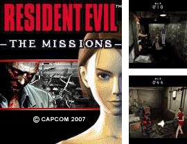 Download free mobile game: Resident Evil: The Missions 3D - download free games for mobile phone.