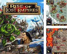 Download free mobile game: Rise Of Lost Empires - download free games for mobile phone.
