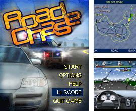 In addition to the game Angry Policeman for mobile phone, you can download mobile game Road Chase for free.