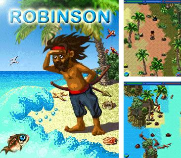 In addition to the game Zombie chase 2 for mobile phone, you can download mobile game Robinson Crusoe: Shipwrecked for free.