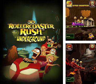 In addition to the game Doraemon: A Dream Games for mobile phone, you can download mobile game Rollercoaster Rush Underground 3D for free.